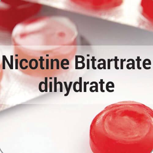 Nicotine Bitartrate dihydrate